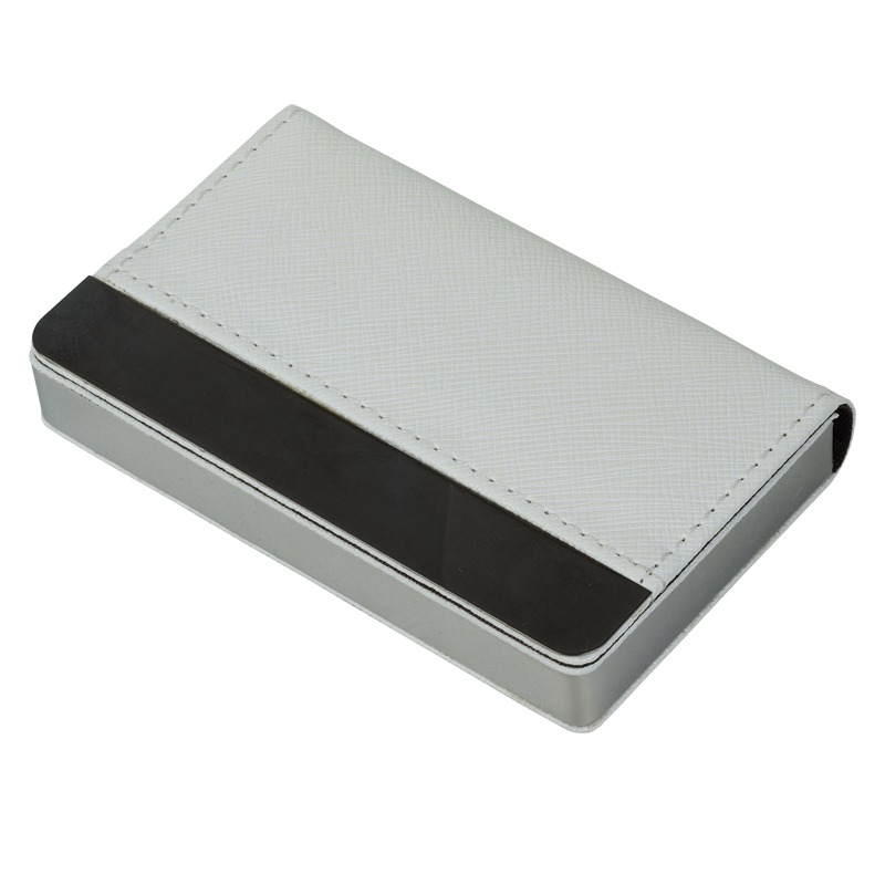Daze business card holder, white photo