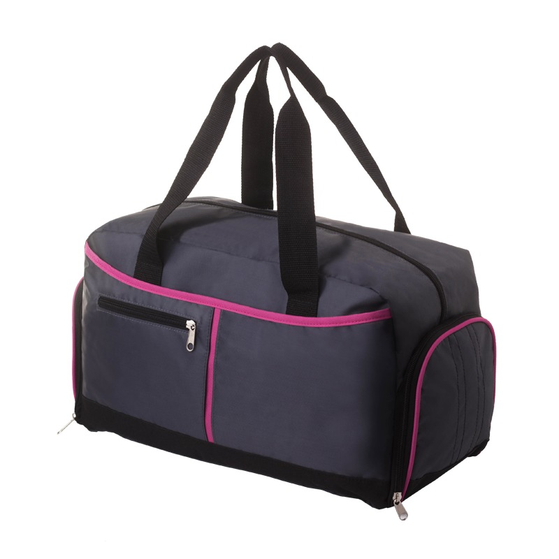 Ardmore sport bag, graphite/pink photo